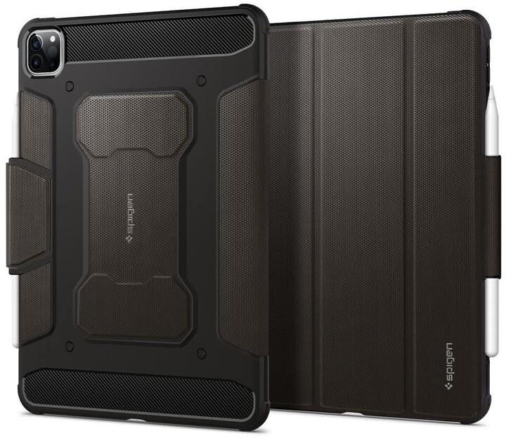 """Spigen ochranný kryt Rugged Armor pro iPad Pro 11"""" (2018/2020), tmavě šedá"""