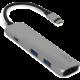 EPICO USB Type-C Hub Multi-Port 4k HDMI - silver/black