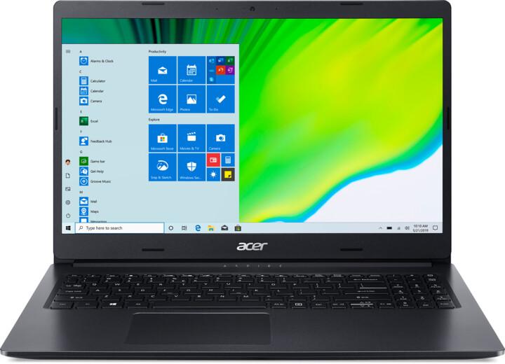 Acer Aspire 3 (A315-23-A1H1), černá