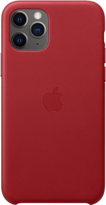 Apple kožený kryt na iPhone 11 Pro (PRODUCT)RED, červená