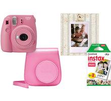 Fujifilm Instax MINI 9, růžová, bigbox