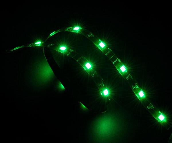 Akasa AK-LD02-05GN LED pásek, 60 cm, zelená
