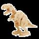 Stavebnice RoboTime Dinosaurus - T-Rex, dřevěná