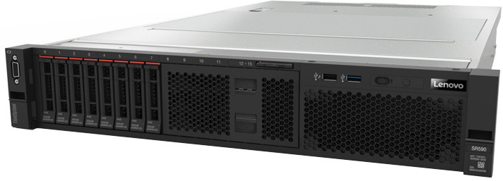 Lenovo ThinkSystem SR590 /S4110/3x600GB SAS/16GB/2x750W