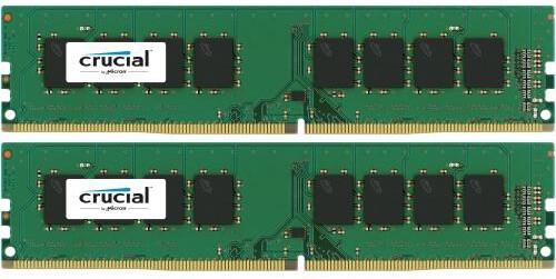 Crucial 8GB (2x4GB) DDR4 2133, Single Ranked
