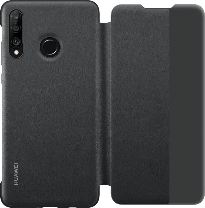 Huawei Original S-View pouzdro pro P30 Lite, černá