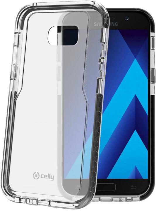 CELLY Hexagon Zadní kryt pro Samsung Galaxy A5 (2017), černý