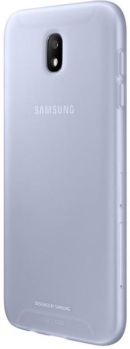 Samsung Galaxy J7 silikonový zadní kryt, Jelly Cover, modrý