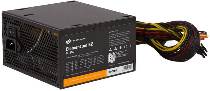 SilentiumPC Elementum E2, 350W, bulk