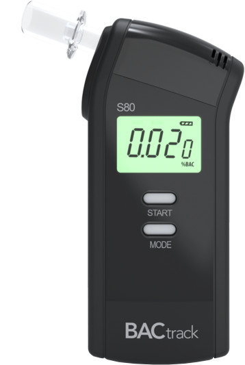 BACtrack S80 Pro, alkohol tester