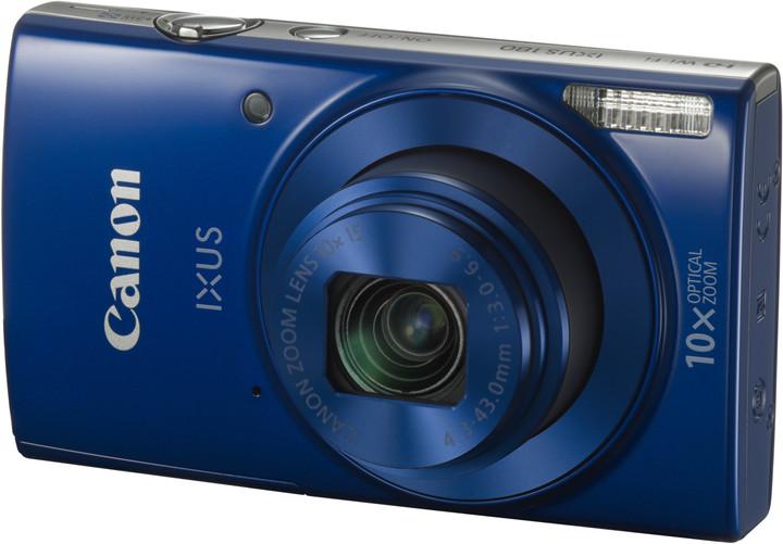 Canon IXUS 180, modrá