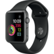 Apple Watch 42mm Space Grey Aluminium Case with Black Sport Band  + Zdarma Nike batoh Sportswear Elemental modrý (v ceně 799,-)