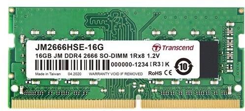 Transcend 32GB DDR4 2666 SO-DIMM