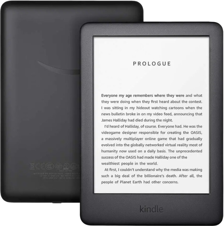 Amazon New Kindle 2020 8GB, černá -sponzorovaná verze