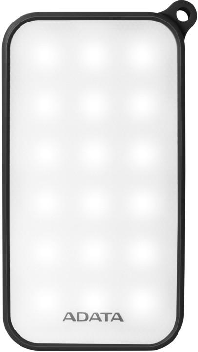 ADATA D8000L 8000mAh, černá - outdoor LED svítilna