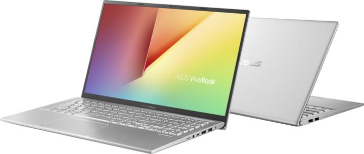 ASUS VivoBook 15 X512FJ, stříbrná