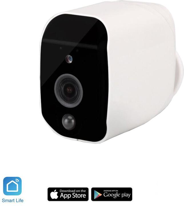 iQtech SmartLife Wi-Fi IP kamera BC01W, venkovní, bateriová, IP65