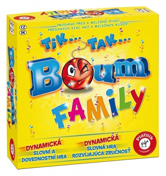Desková hra Piatnik Tik Tak Bum Family (CZ)