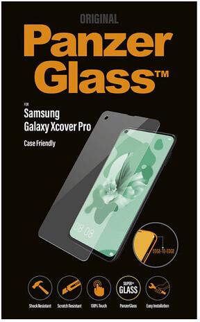 PanzerGlass Edge-to-Edge pro Samsung Galaxy Xcover Pro, čirá