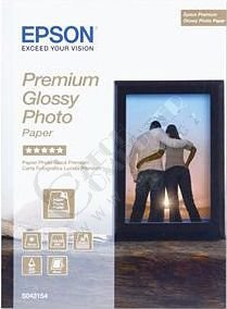 Epson Foto papír Premium Glossy, 13x18 cm, 30 listů, 255g/m2, lesklý