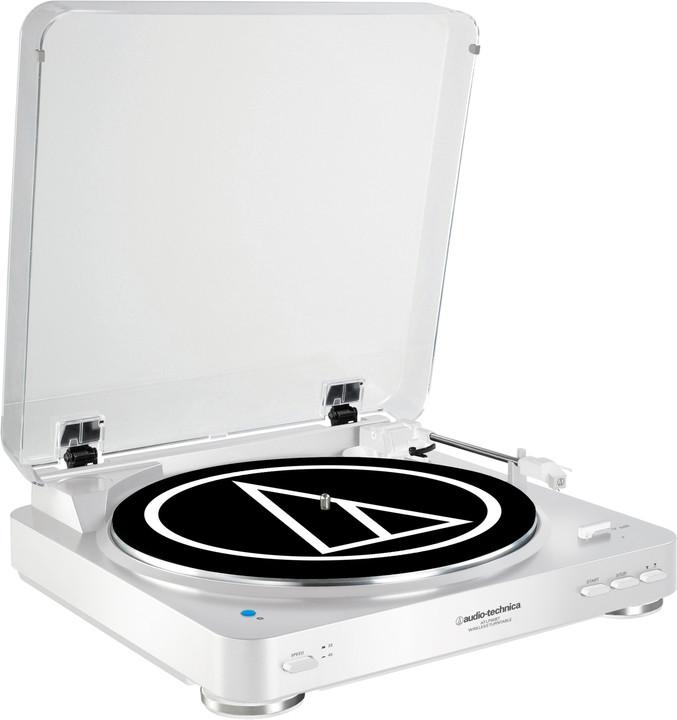Audio-Technica AT-LP60WH-BT, stříbrná