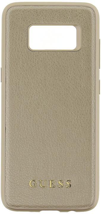 Guess Iridescent Hard Case pro Samsung G950 Galaxy S8, Gold
