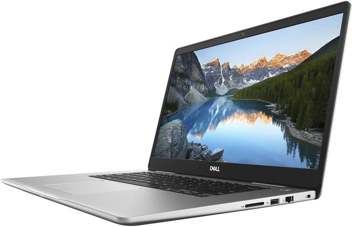 Dell Inspiron 15 (7570) Touch, stříbrná