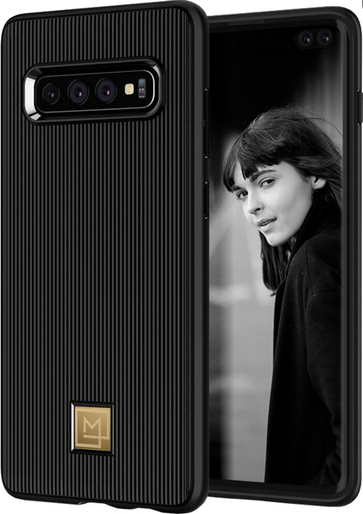 Spigen La Manon Classy Galaxy S10+, černá