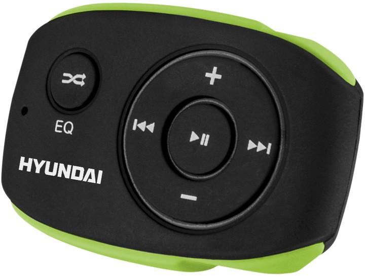Hyundai MP 312, 4GB, černá/zelená