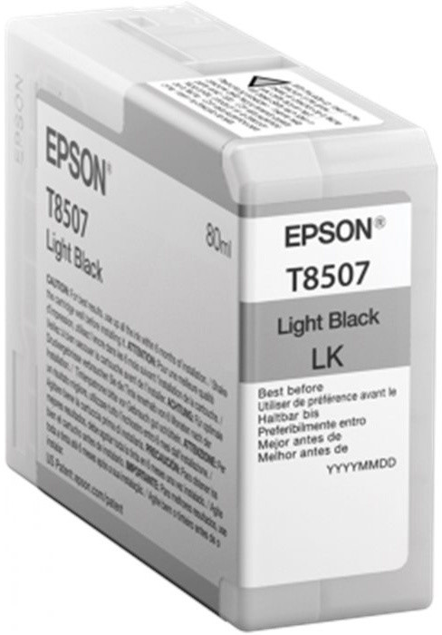 Epson T850700, (80ml), light black