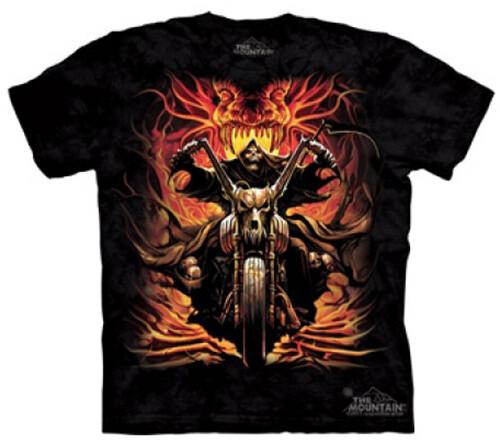Tričko The Mountain Grim Rider, černá (US M / EU L)
