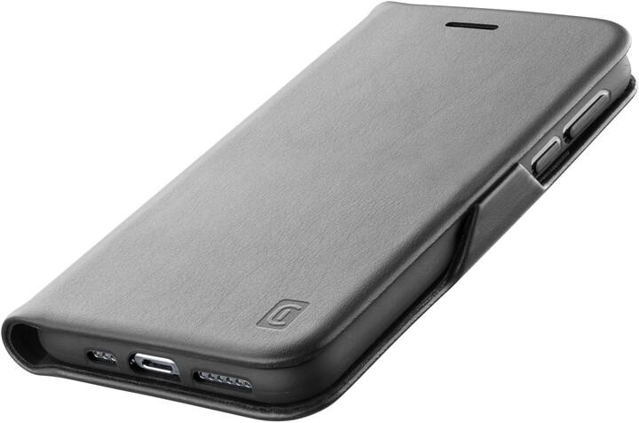 Cellularline flipové pouzdro Book Clutch pro Samsung Galaxy S21 Ultra, černá