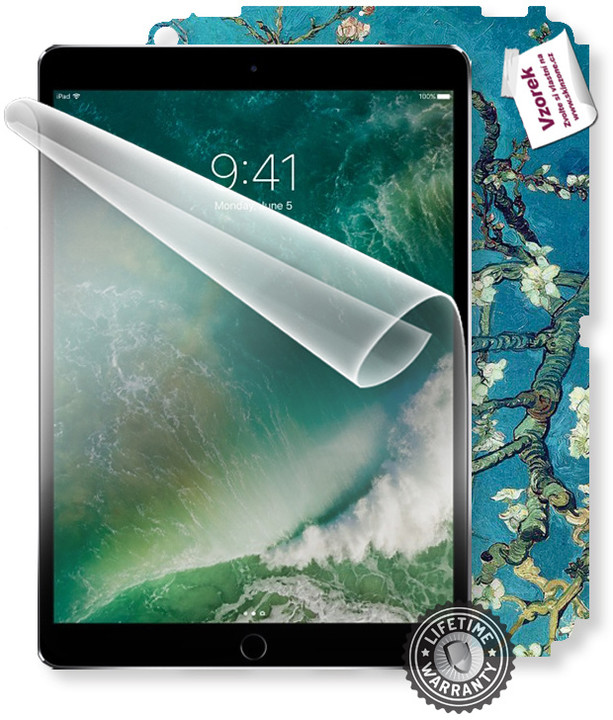 ScreenShield fólie na displej + skin voucher (vč. popl. za dopr.) pro Apple iPad Pro 10.5 Wi-Fi