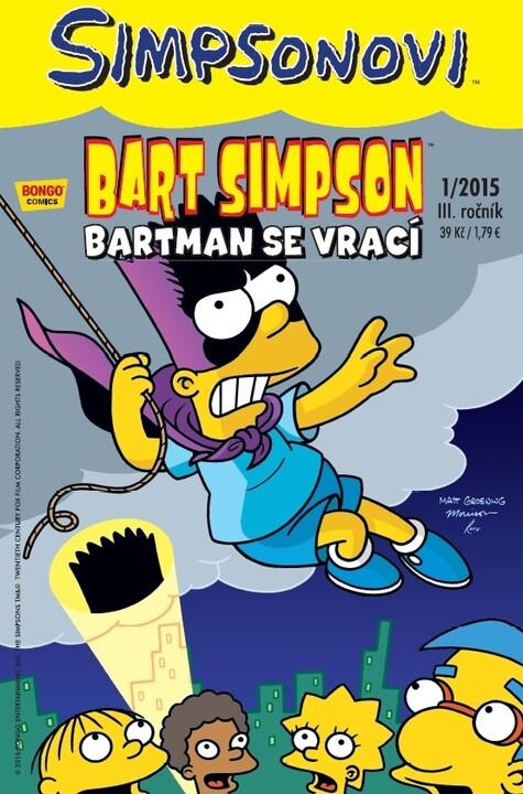 Komiks Bart Simpson: Bartman se vrací, 1/2015