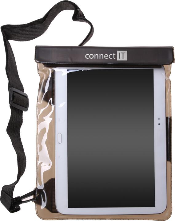"""CONNECT IT TAB7 vodotěsné pouzdro na tablet do 10"""" s audio jack výstupem"""