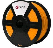 C-TECH tisková struna (filament), ASA, 1,75mm, 1kg, oranžová - 3DF-ASA1.75-O