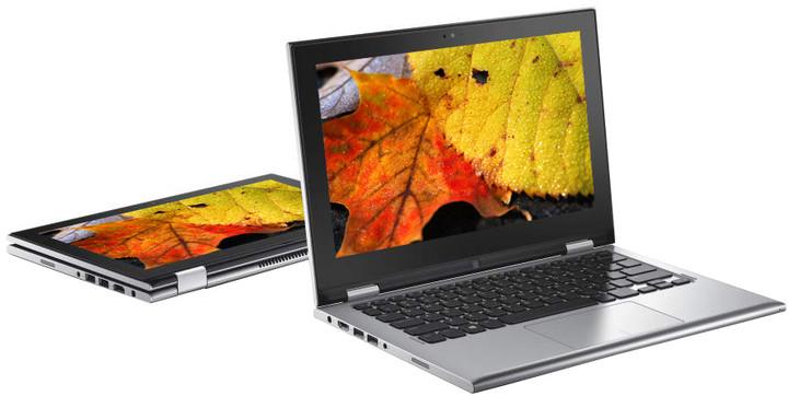 Dell Inspiron 11z (3147) Touch, stříbrná
