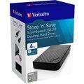 Verbatim Store 'n' Save, USB 3.0 - 4TB, černá