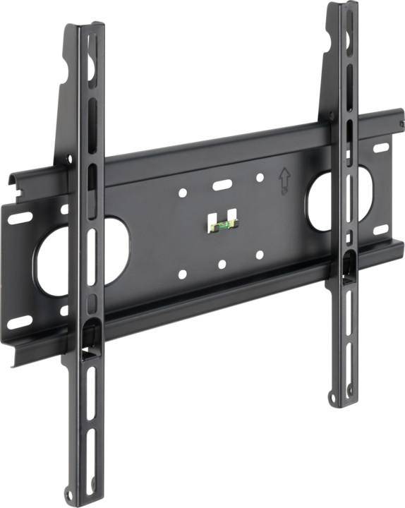 Meliconi 480861 Slim Style 400 F nástěnný držák na TV, černá