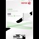 Xerox bílé samolepicí štítky pro černobílý tisk - ostré rohy, A4, 100ks, 4UP 105x148,5