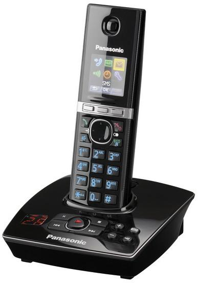 Panasonic DECT KX-TG8061FXB, černá