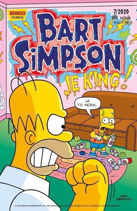Komiks Bart Simpson, 7/2020