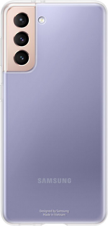Samsung ochranný kryt Clear pro Samsung Galaxy S21, transparentní