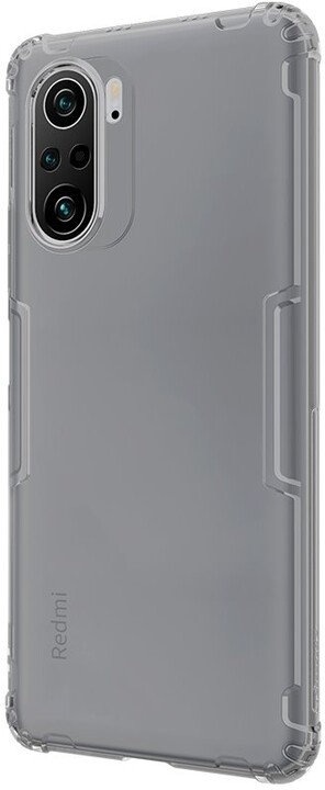 Nillkin pouzdro Nature TPU pro Xiaomi Poco F3, šedá