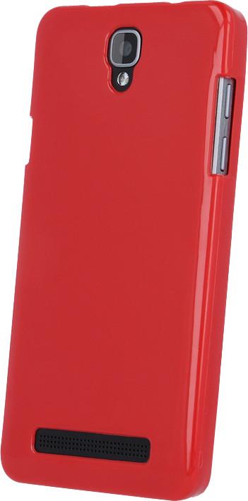 myPhone silikonové pouzdro pro PRIME PLUS, červená
