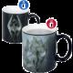 Hrnek Skyrim - Dragon Symbol (měnící)