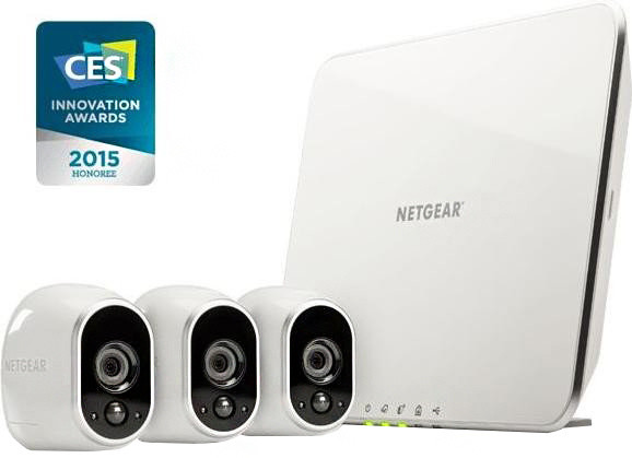 NETGEAR VMS3330 video server Arlo Security System, 3x HD Camera