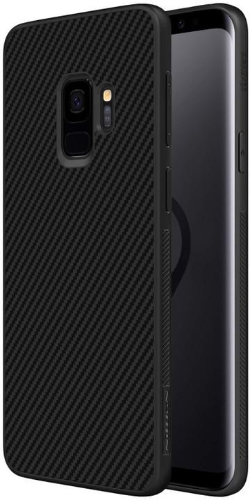 Nillkin Synthetic Fiber ochranný zadní kryt pro Samsung G960 Galaxy S9, Carbon Black
