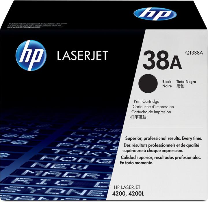 HP Q1338A, černá