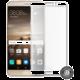 Screenshield temperované sklo na displej pro Huawei Mate 9, kovový rámeček, bílá
